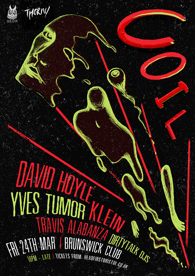 Howling Owl + THORNY Present COIL at Brunswick Club in Bristol