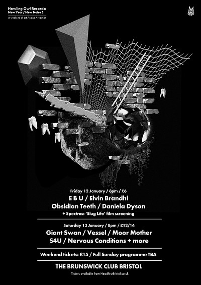 New Year / New Noise 5 (Weekend Ticket) at Brunswick Club in Bristol