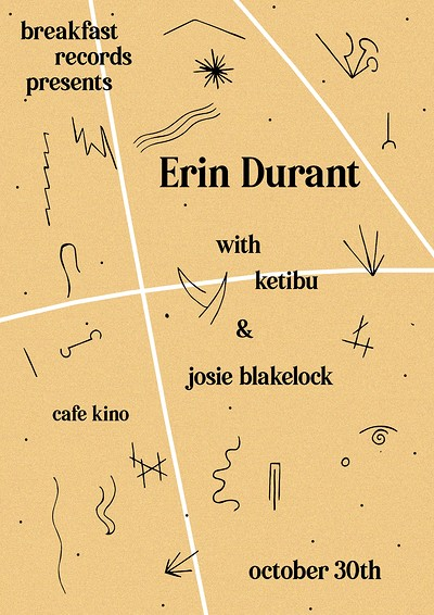 Breakfast Presents: Erin Durant & Guests at Cafe Kino in Bristol