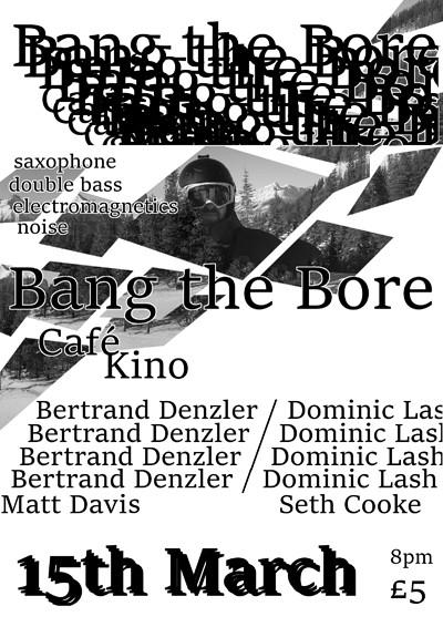 BtB Presents... Denzler, Lash, Davis & Cooke at Cafe Kino in Bristol