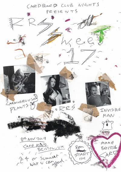 Cardboard Club Nights Presents: RRS' Sweet 17 at Cafe Kino in Bristol