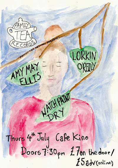 Family Tea Records presents Amy May Ellis  at Cafe Kino in Bristol