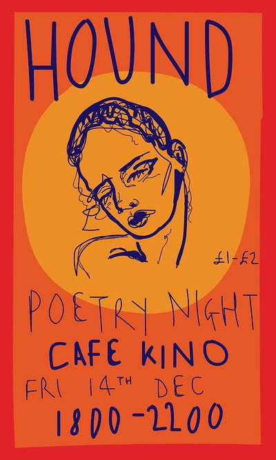 HOUND Poetry Night at Cafe Kino in Bristol