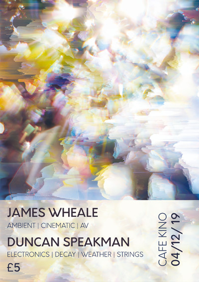 James Wheale + Duncan Speakman at Cafe Kino in Bristol