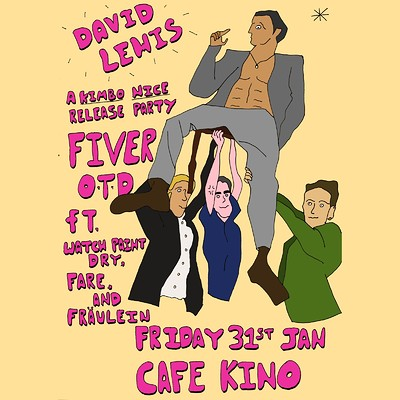 Kimbo Nice - 'David Lewis' single launch  at Cafe Kino in Bristol