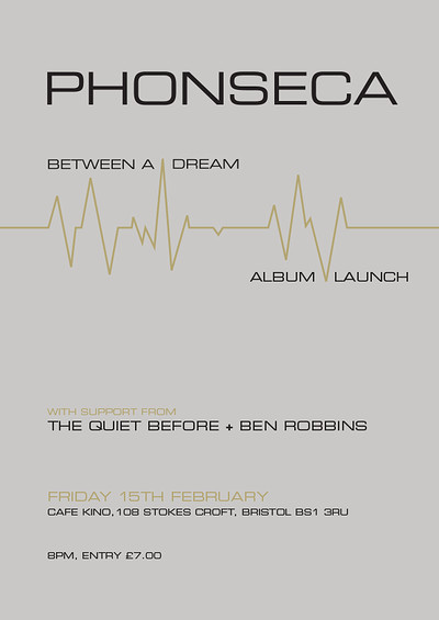 Phonseca - Album Launch at Cafe Kino in Bristol