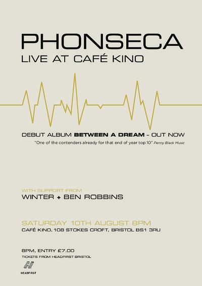 Phonseca - Live at Cafe Kino at Cafe Kino in Bristol