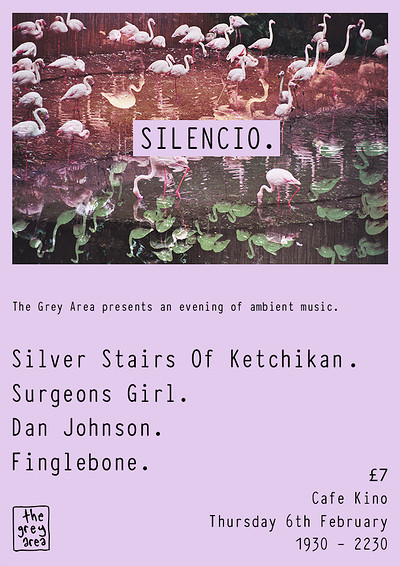 Silencio. An evening of Ambient Music. at Cafe Kino in Bristol