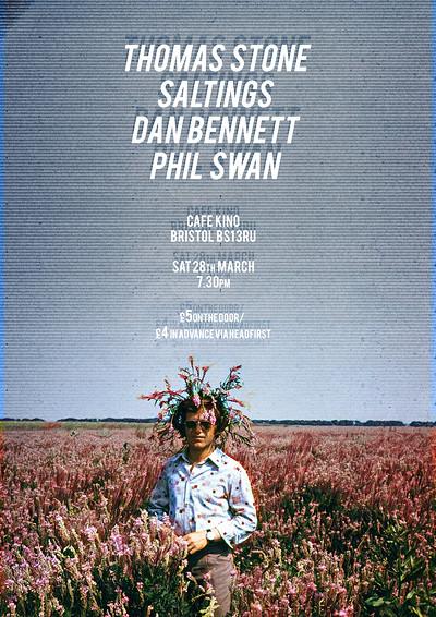 Thomas Stone / SALTINGS / Dan Bennett / Phil Swan at Cafe Kino in Bristol
