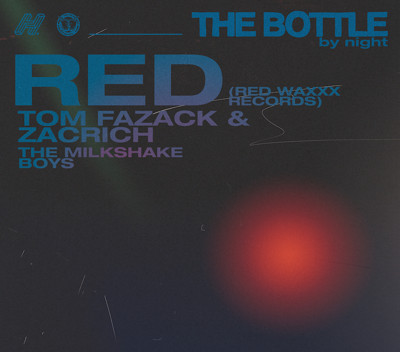 The Bottle by night - RED, T Fazack & Zacrich, TMB at Caper & Cure in Bristol