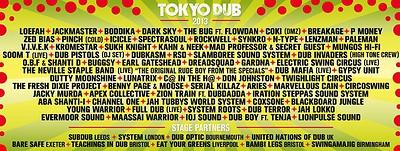 Tokyo Dub 2013 at Castle Park Bristol in Bristol