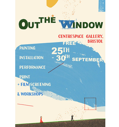 Out the Window at Centrespace Gallery, Bristol in Bristol