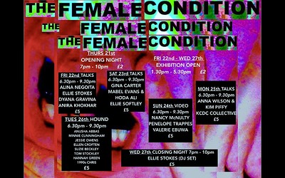 Evening # 4: The Female Condition Exhibition at Centrespace Gallery in Bristol
