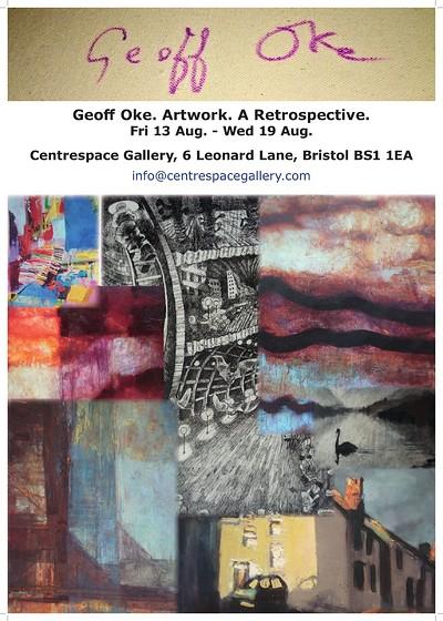 Geoff Oke - Artwork Retrospective at Centrespace in Bristol