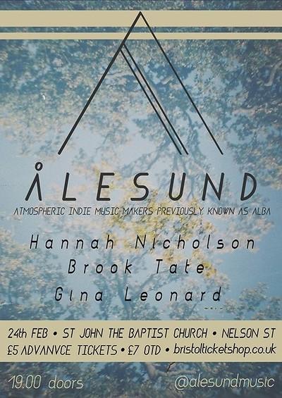 Ålesund+Hannah Nicholson+Brook Tate+Gina Leonard at Church of St John the Baptist in Bristol