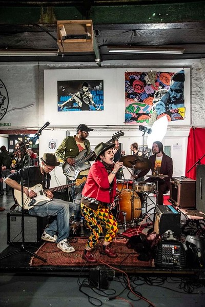 Suspicious Jazz Roll Ups Live at Cloak and Dagger, The in Bristol