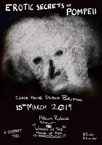 Coach House Live: Erotic Secrets of Pompeii at Coach House Studio in Bristol