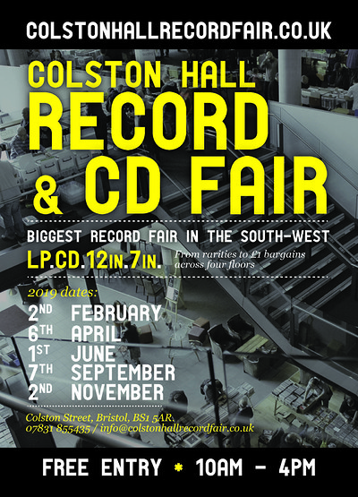 Colston Hall Record Fair at Colston Hall in Bristol