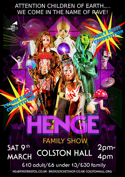 Henge Family Show at Colston Hall in Bristol