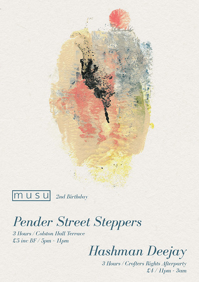 Musu Terrace Party ft. Pender Street Steppers at Colston Hall in Bristol