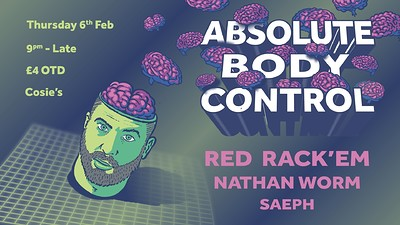 Absolute Body Control at Cosies in Bristol