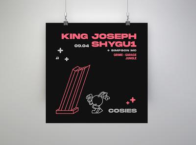 All Night Shubz - King Joseph, ShyGu1 ft Simpson  at Cosies in Bristol
