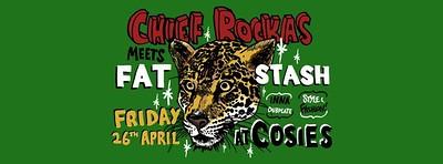 Chief Rockas Meets Fat Stash at Cosies in Bristol