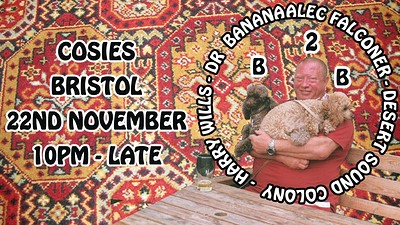 Desert Sound Colony, Dr Banana, Harry Wills & Alec at Cosies in Bristol