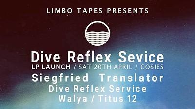 Dive Reflex Service Album Launch at Cosies in Bristol