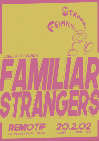 Familiar Strangers - EP & Label Launch Party at Cosies in Bristol