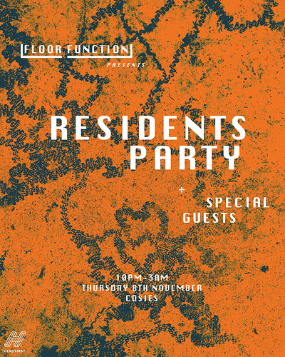 Floor Function: Residents + Special Guests at Cosies in Bristol