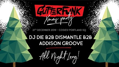GutterFunk Xmas Party 2019 at Cosies in Bristol