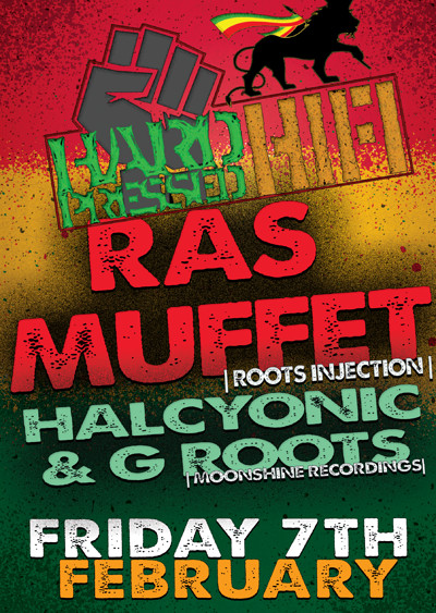 Hard Pressed Hifi - Ras Muffet Halcyonic & G Roots at Cosies in Bristol