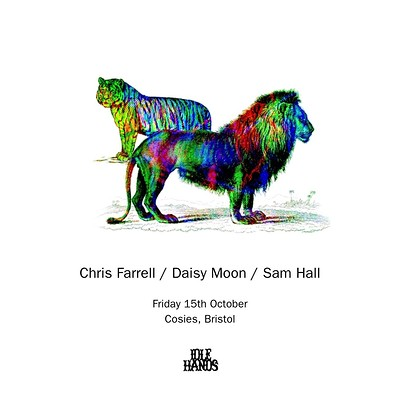Idle Hands w/ Chris Farrell, Daisy Moon & Sam Hall at Cosies in Bristol