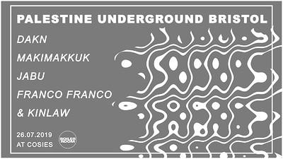 Palestine Underground at Cosies in Bristol