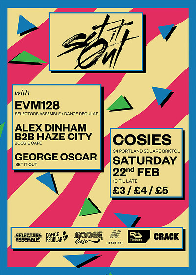 Set It Out w/ EVM128 at Cosies in Bristol
