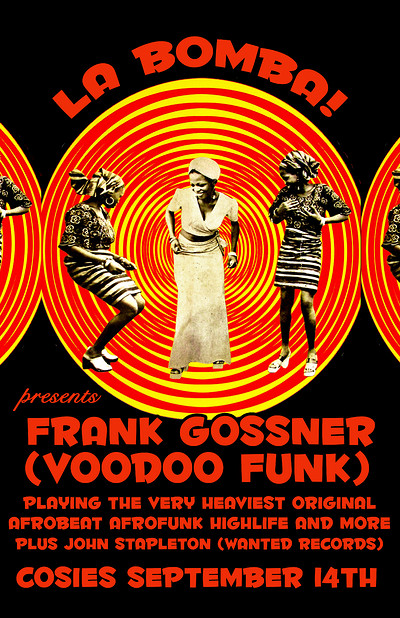 Voodoo Funk with Frank Gossner at Cosies in Bristol