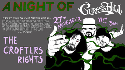 A Night Of: Cypress Hill at Crofters Rights in Bristol