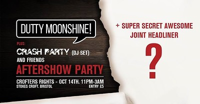 Album Launch Afterparty feat Super Speci at Crofters Rights in Bristol