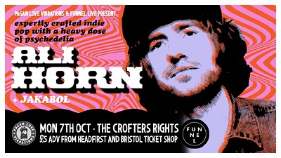 Ali Horn + support at Crofters Rights in Bristol