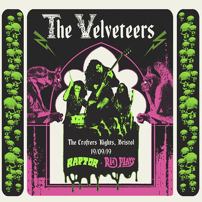 BLG & WP: The Velveteers / Raptor / Ria Plays at Crofters Rights in Bristol