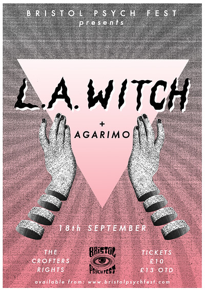 BPF presents: L.A. Witch at Crofters Rights in Bristol
