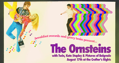 Breakfast Gravy presents: The Ornsteins at Crofters Rights in Bristol