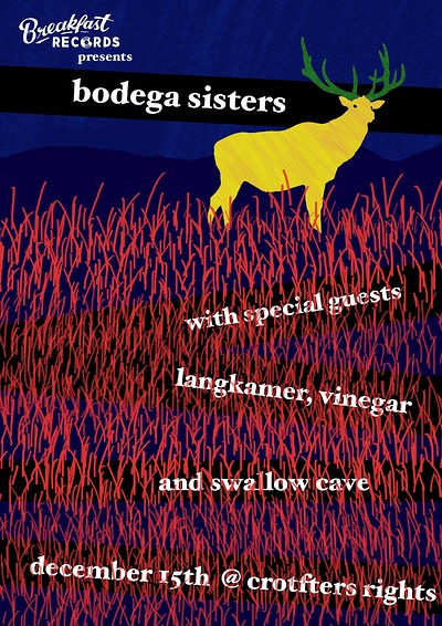Breakfast Records presents: Bodega Sisters at Crofters Rights in Bristol