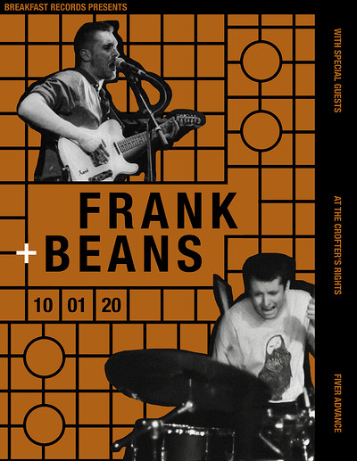 Breakfast Records presents: Frank & Beans at Crofters Rights in Bristol