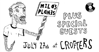 Breakfast Records presents: Milo's Planes at Crofters Rights in Bristol