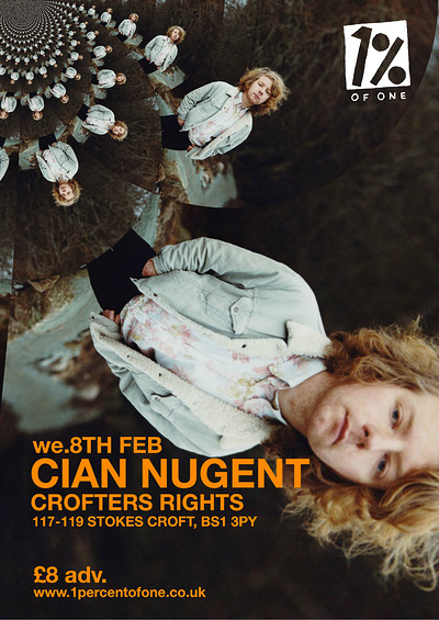 Cian Nugent at Crofters Rights in Bristol