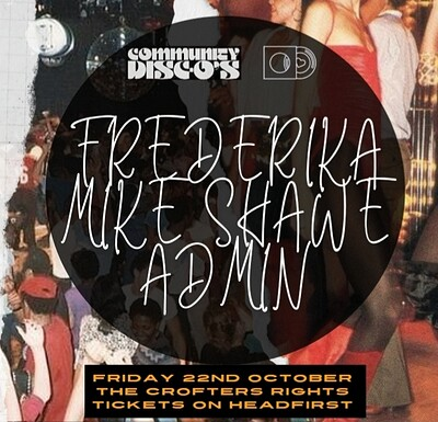 Community Disc-O's Presents // #5 at Crofters Rights in Bristol