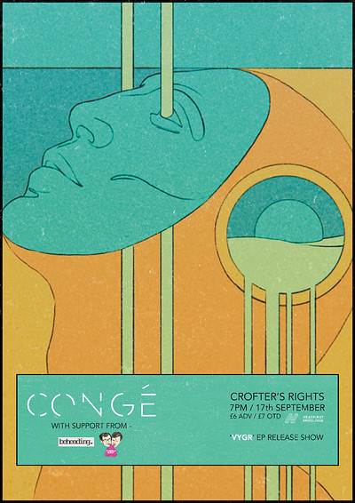 Congé - 'VYGR' Release Show at Crofters Rights in Bristol