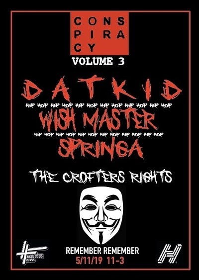 Conspiracy Volume 3 (Bonfire Night): Datkid at Crofters Rights in Bristol